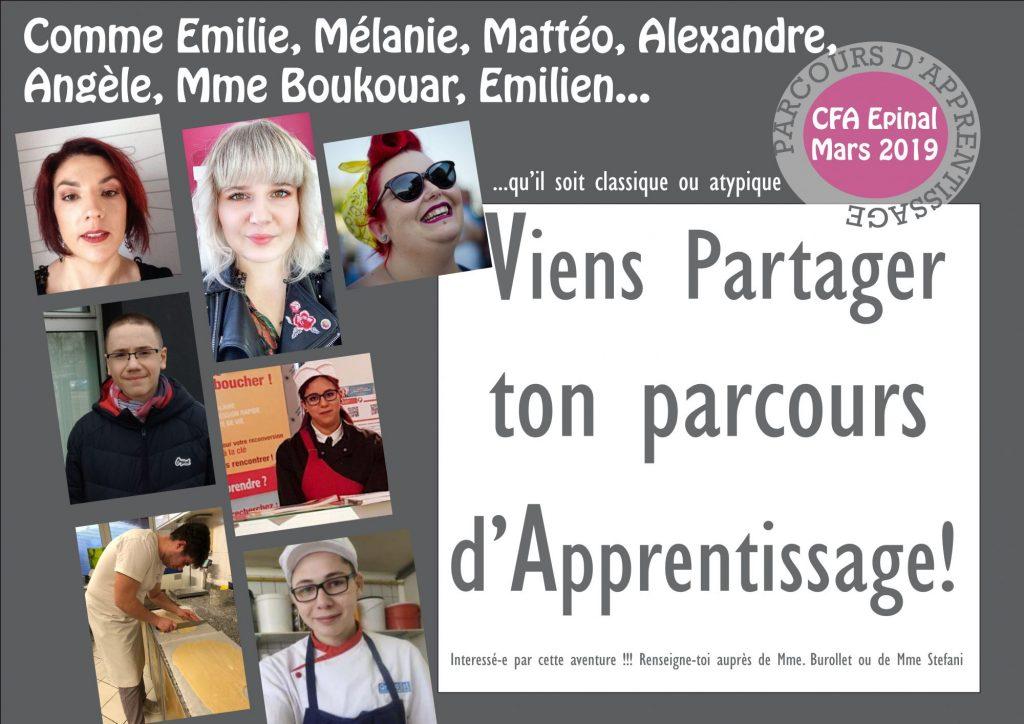 Comme Emilie Viens Partager Ton Experience De L Apprentissage Cfa Pole Des Metiers